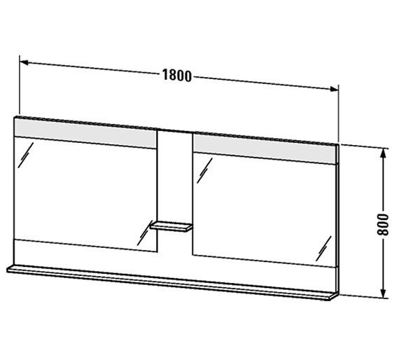 Technical drawing QS-V4390 / VE736201818