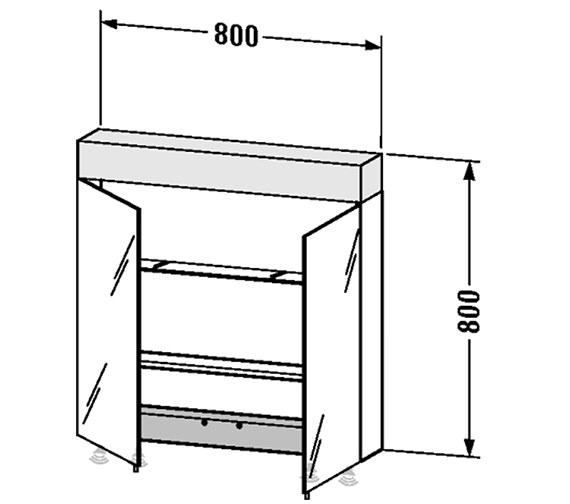Technical drawing QS-V4396 / VE750300000