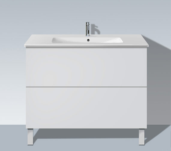 Duravit L Cube 1020mm Floor Standing Unit With Me By Starck Basin
