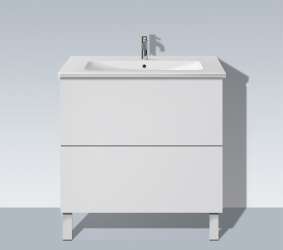 Duravit L Cube 820mm Floor Standing Unit With Me By Starck Basin