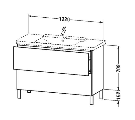 Technical drawing QS-V63356 / LC660301818