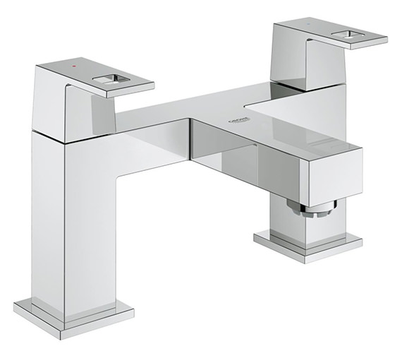 Grohe Eurocube Two-Handled Bath Filler Tap - 25136000