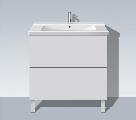 Duravit L Cube 820mm Floor Standing Unit - LC660101818
