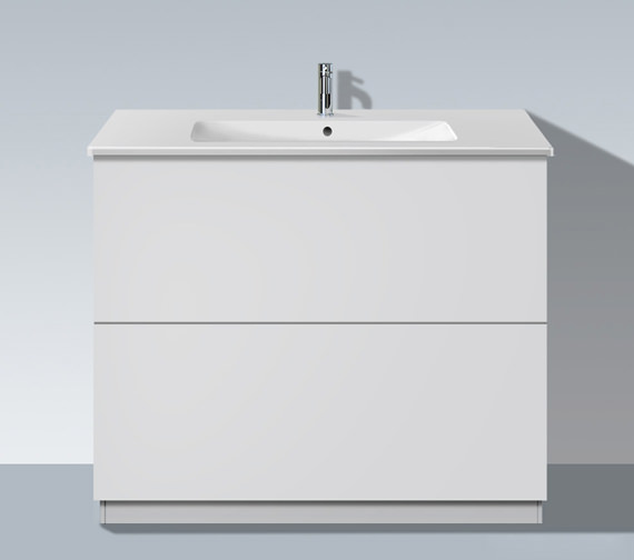 Duravit L Cube 1020mm Vanity Unit With Plinth Panel And Me By Starck Basin