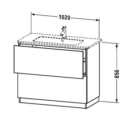 Technical drawing QS-V63358 / LC668201818