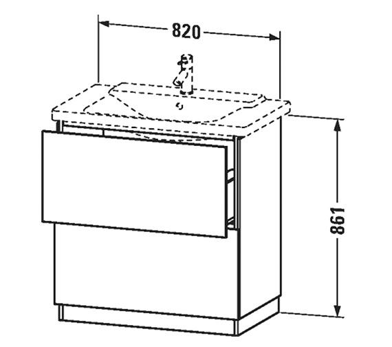 Technical drawing QS-V63360 / LC661301818
