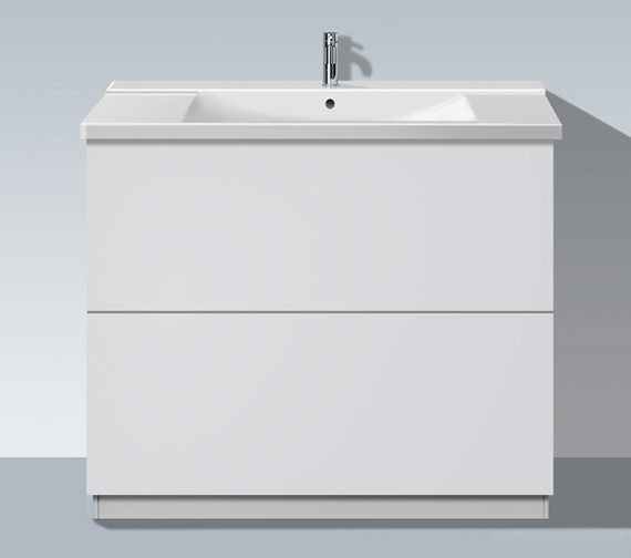 Duravit L Cube 1020mm Floor Standing Unit With Plinth Panel - LC661301818