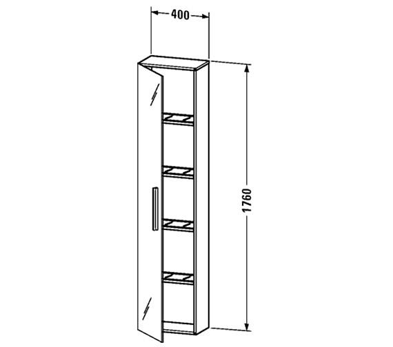 Technical drawing QS-V4411 / VE1126L1818