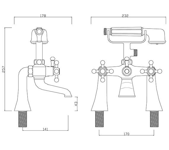 Technical drawing QS-V30309 / FA/105/C
