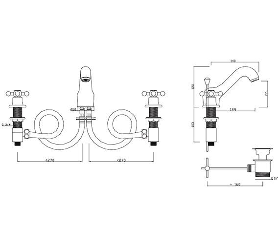 Technical drawing QS-V30306 / FA/107/C