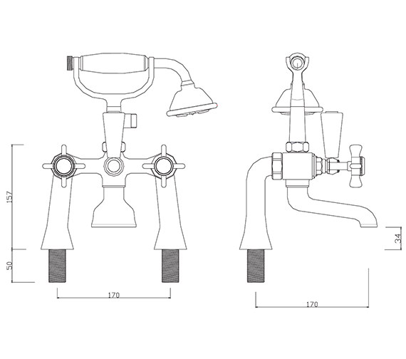 Technical drawing QS-V30271 / CH/105/C