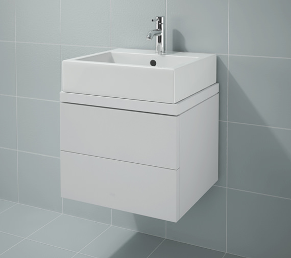 Duravit L Cube 520x477mm 2 Drawers Unit For Console - LC682001818