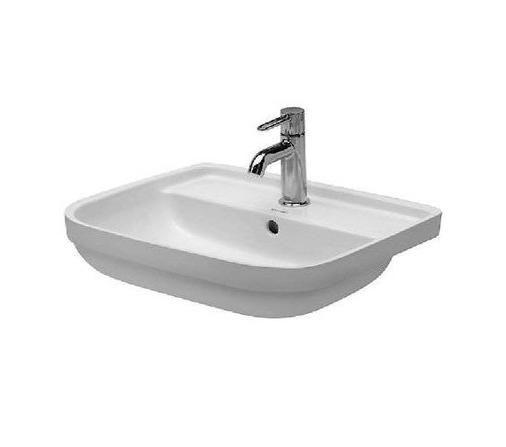 Duravit Happy D Under Counter Vanity Washbasin 480mm - 044148