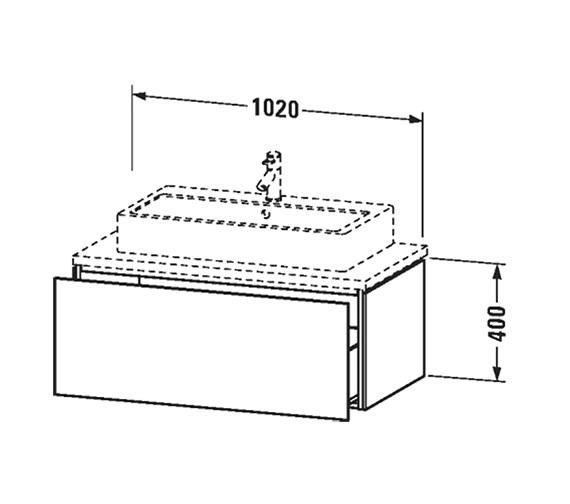 Technical drawing QS-V63380 / LC682901818