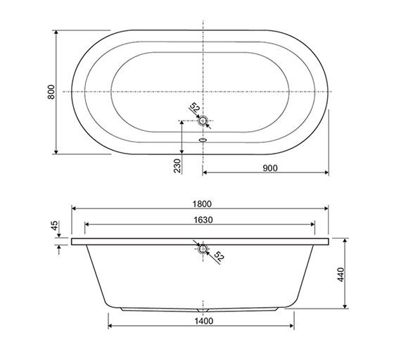 Technical drawing QS-V75057 / 154RHEIN