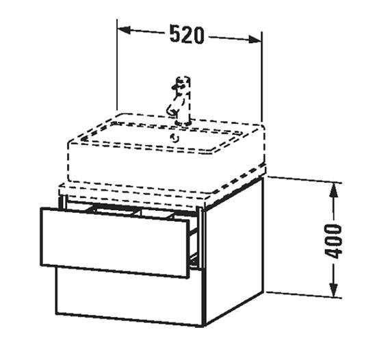 Technical drawing QS-V63383 / LC683601818
