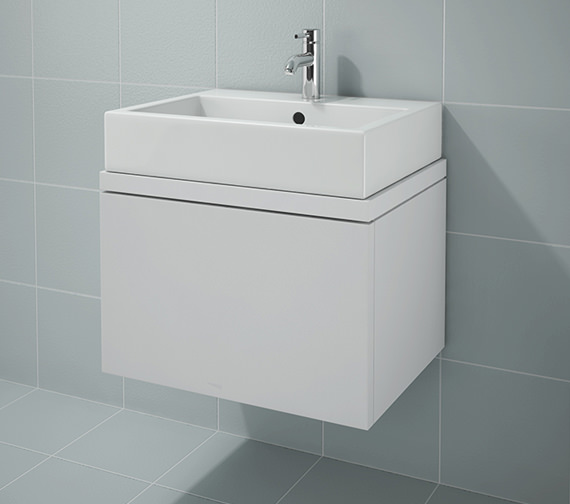 Duravit L Cube 620x477mm Unit For Console - LC681101818