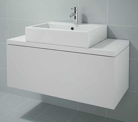 Duravit L Cube 1020x477mm Unit For Console - LC681301818