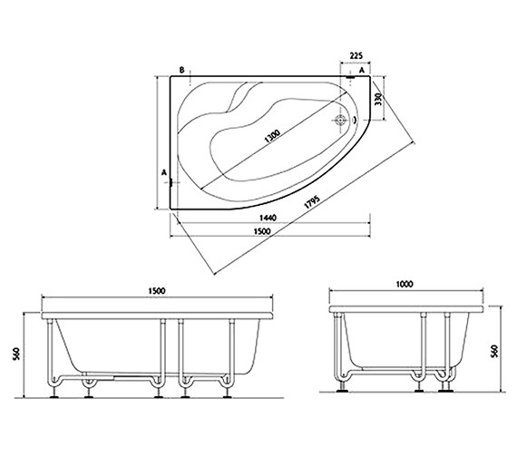 Technical drawing QS-V59784 / 50780002000