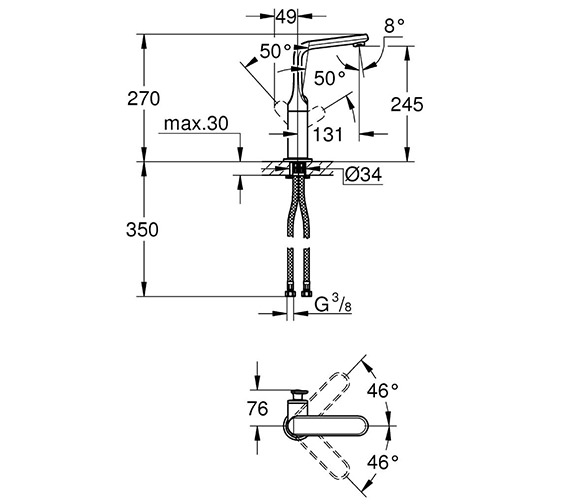 Technical drawing QS-V24066 / 32187000