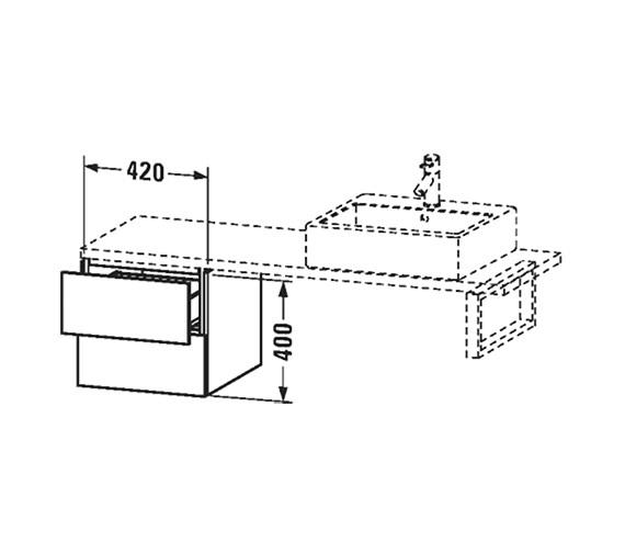 Technical drawing QS-V63406 / LC687501818
