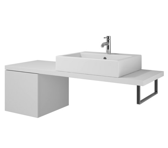 Duravit L Cube 420 x 547mm Cabinet For Console - LC686501818