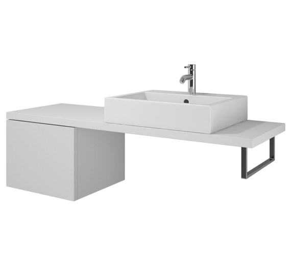 Duravit L Cube 520 x 547mm Cabinet For Console - LC686601818