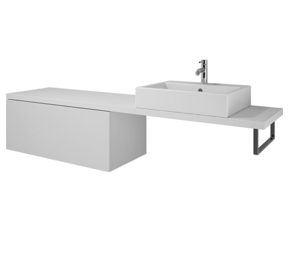 Duravit L Cube 1020 x 547mm Cabinet For Console - LC686901818