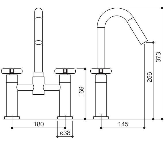 Technical drawing QS-V30883 / LOL023