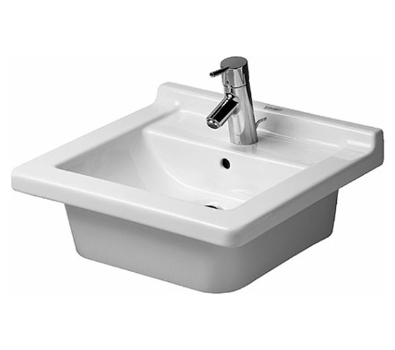 Awesome Duravit Starck 600mm Vanity Unit With 580mm Starck 1 Washbasin