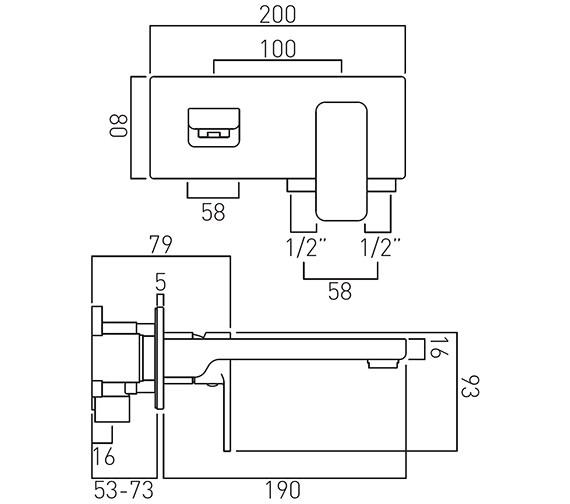 Technical drawing QS-V20554 / PHA-109S/A-C/P
