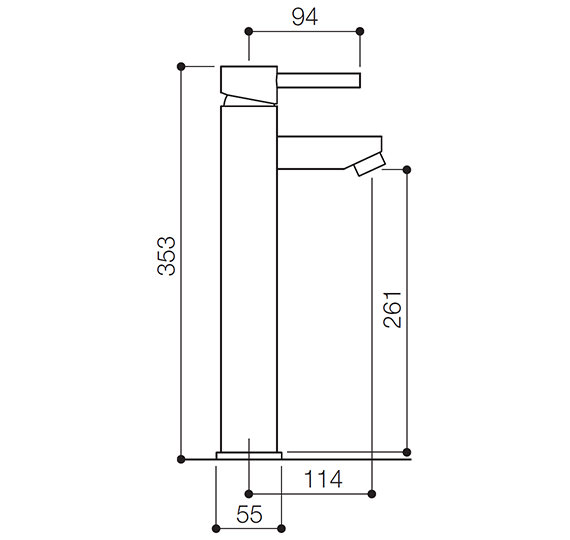 Technical drawing QS-V55824 / SK005