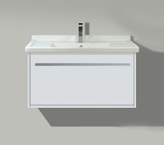 Duravit X-Large 600mm 1 Compartment Unit With 700mm Starck 3 Basin