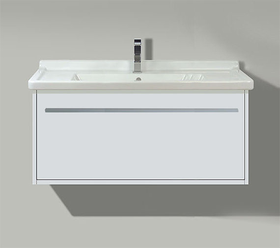 Duravit X-Large 800mm 1 Compartment Unit With 850mm Starck 3 Basin