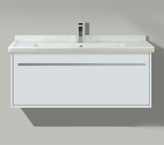 Duravit X-Large 1000mm 1 Compartment Unit With 1050mm Starck 3 Basin