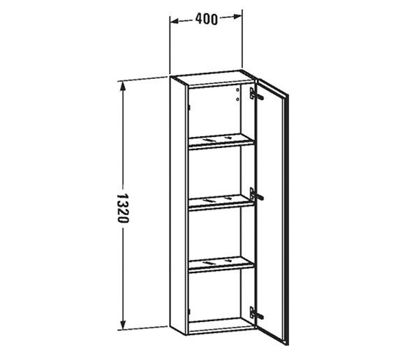 Technical drawing QS-V63422 / LC1168R1818