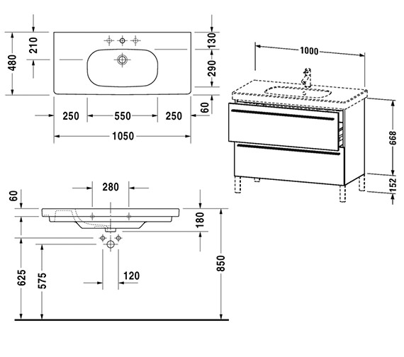Technical drawing QS-V4414 / XL651701818