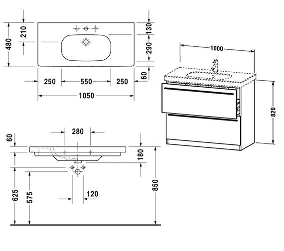Technical drawing QS-V4417 / XL658201818