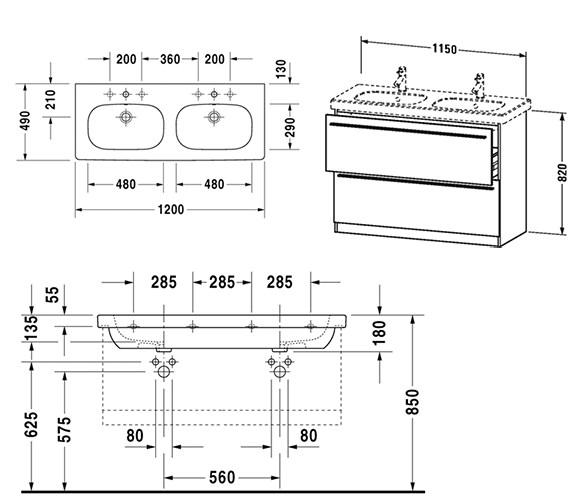 Technical drawing QS-V4418 / XL658301818
