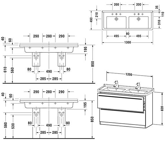 Technical drawing QS-V4426 / XL659301818