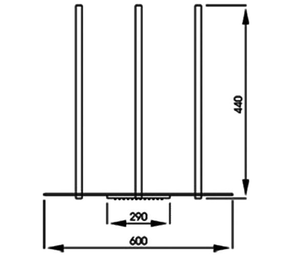 Technical drawing QS-V39430 / AB2406