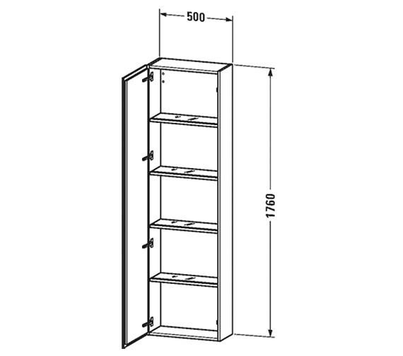 Technical drawing QS-V63431 / LC1171L1818