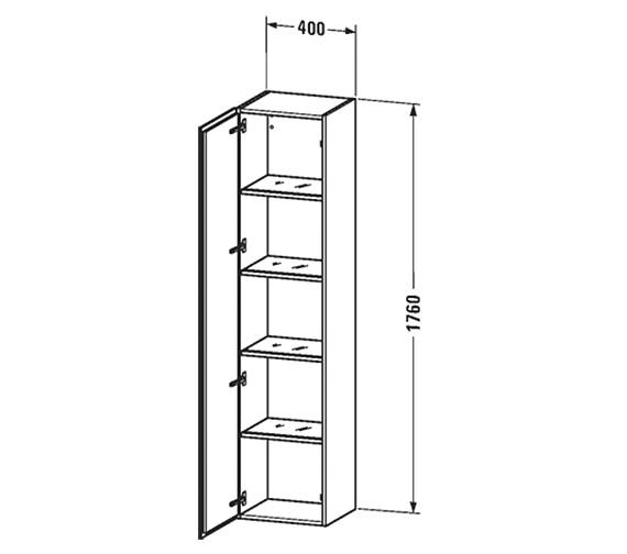 Technical drawing QS-V63433 / LC1180L1818