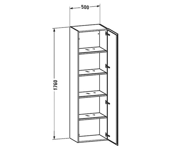 Technical drawing QS-V63436 / LC1181R1818