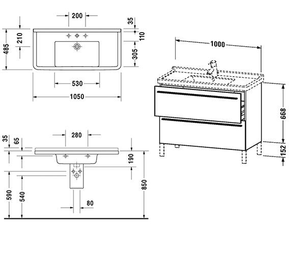 Technical drawing QS-V4421 / XL653701818