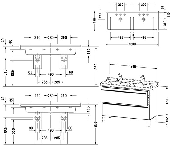 Technical drawing QS-V4422 / XL653801818