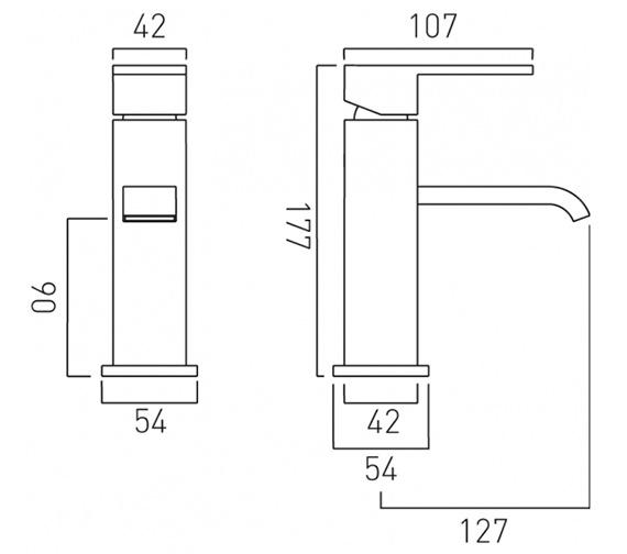 Technical drawing QS-V37051 / GEO-200/SL/SB-C/P