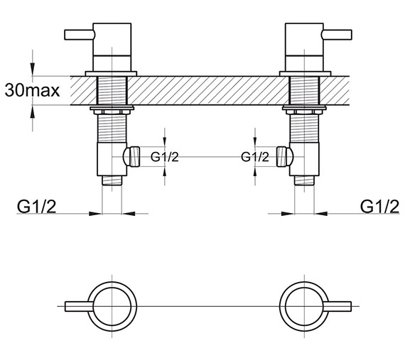 Technical drawing QS-V30472 / EL/187/C