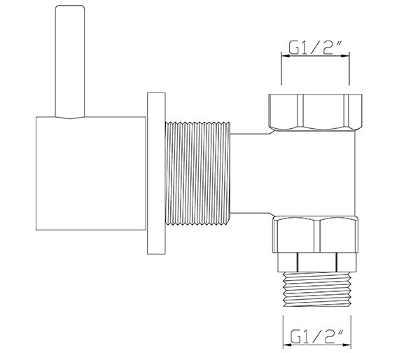 Technical drawing QS-V30476 / EL/195/C