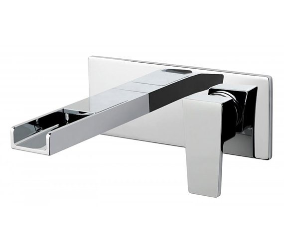 Vado Synergie Wall Mounted 2 Hole Basin Mixer Tap - SYN-109S